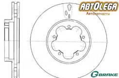 Диск тормозной вентилируемый передний G-brake FORD Transit 06-
