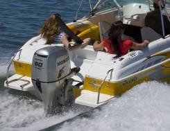 4х-тактный лодочный мотор Honda BF 90