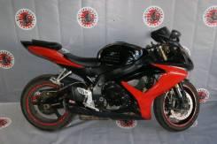 Мотоцикл Suzuki GSX-R600, 2007г, полностью в разбор