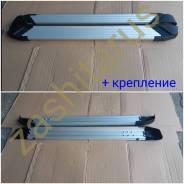 Подножки пороги Lifan X70 с 2018г Silver