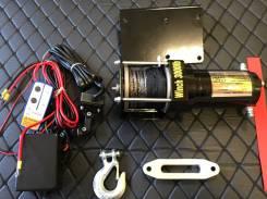 Лебедка электрическая 12V Electric Winch 3000lbs / 1361 кг с кевлар