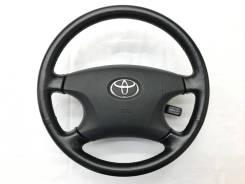 Оригинальный черный кожаный руль Toyota