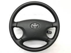 Оригинальный черный кожаный обод руля Toyota