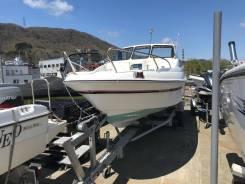 Продам лодку CRV 20 HT с прицепом.