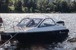 Стеклопластиковый катер СПЭВ Phoenix (Феникс) 560 каютный, новый