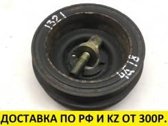 Контрактный шкив коленвала Mitsubishi 4G13/4G15/4G18. Оригинал.
