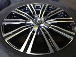 Диски как новые оригинал Lexus LX570 black polish R21 5x150