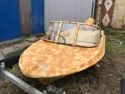 Продам лодку «Крым», новый навесной 40л. с.
