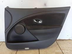 Обшивка передней правой двери Renault Megan 3 Fluence