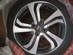 Оригинальные диски (литье) на Honda Grace R16 с резиной Yokohama