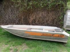 Продается алюминиевая лодка с ПЛМ