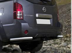 Защита заднего бампера Nissan Pathfinder 51 2009-14г d76 уголки
