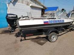 Продам лодку Обь М с мотором Evinrude - 30л. с