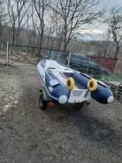 Продам лодку Suzumar RIB 350 в комплекте с телегой