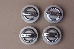Центральные колпачки на диски Nissan