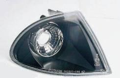 Указатель Поворота Угловой Левый+Правый (Комплект) (Седан) Тюнинг Прозрачный Внутри Черный BMW - E46 седан/универсал 3-series 1998-2006 [SK3325-E464D-NA]