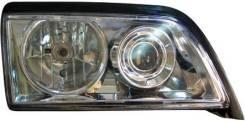 ФАРА Левая+Правая (Комплект) Тюнинг Линзованная Хрустальная Прозрачная Внутри Хромированная Mercedes - W202 1993-2000 [MD20293-001H-N]