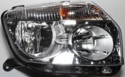 ФАРА Правая Внутри Хромированная С Регулирующим Мотором (Оригинал) Renault Duster 2010- [260100067R]