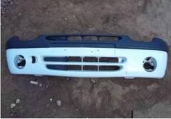 Бампер Передний С Отверстиями ПОД Противотуманки Грунтованный Renault Twingo 2000-2001 [Rntwn00-160X]