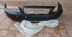Бампер Передний С Отверстиями ПОД Противотуманки Черный Volvo S70/V70/C70/XC70 1997-2007 [VV4700000-3100]