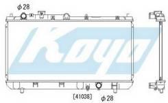 Радиатор Охлаждения Механика 1.4 1.6 1.9 (1 РЯД) Mazda 323 - / 323F / Protege - BJ 1998-2003 [MZ32398-911]
