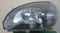 ФАРА Левая ПОД Корректор Внутри Черная Daewoo / Chevrolet Daewoo Lanos / Chevrolet Lanos 1998-2006 [222-1104L2Ldemn]
