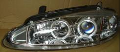 ФАРА Левая+Правая (Комплект) Линзованная С 2 Светящимися Ободками Внутри Хромированная Chrysler - Dodge - Plymouth Dodge Intrepid 1998-2004 [SK3300-DITP98-Y]