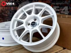 NEW! Новые! # Weds Sport TC105N R15 7J 4x100 White [VSE-4]