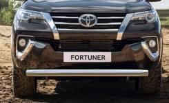 Защита переднего бампера Toyota Fortuner 156 с 2015г d76