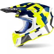 Шлем Airoh Twist 2.0 Frame BLUE Gloss размер XL (61)