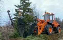 Пересадчик деревьев для фронтального погрузчика