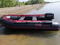 Лодку с моторам