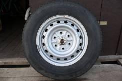 Комплект шин Bridgestone Dueler H/T 689 205/80R16 на штампованных диск