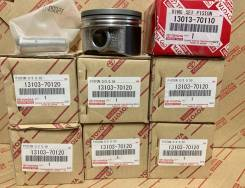 Комплект поршней и колец 0,5 Toyota 1GFE beams 13103-70120/13013-70110