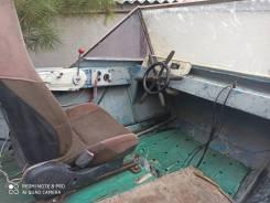 Моторная лодка Крым, двигатель Ямаха 40 на телеге.