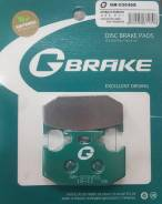 Колодки задние G-Brake GM03045S 11 ММ