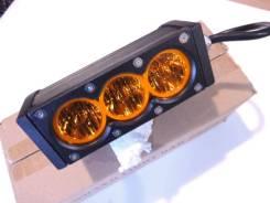 Фара-люстра светодиодная универсальная CH052-30W 3 диода желтая