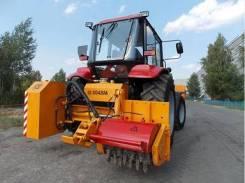 """Трактор """"Беларус 92П"""" с фрезой, 2020"""