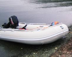 Лодка Maxxon с мотором Mercury 15