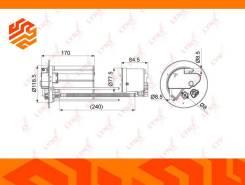 Фильтр топливный Lynxauto LF1075M