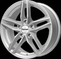 Диск колесный Carwel Тау 108 6.5x16 ЕТ 45 5x114.3 60.1 SL (Арт.10812ZС)