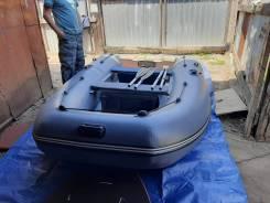 Продам лодку пвх пиранья 3000 цвет серый новая