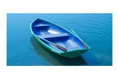 Лодка пластиковая Дельфин (Новая)