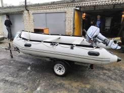 Продаётся лодка Посейдон , Ю. Корея, дырок нет, л. мотор Пайнер, 15 л. с., с