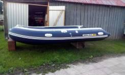 Продам мотолодку Солар-420 Jet с Меркурием-15