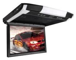 """Авто монитор потолочный 12"""" Threecar TFT LCD, USB чёрный"""
