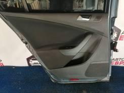 Обшивка двери задняя левая Volkswagen Passat B6 Левый руль