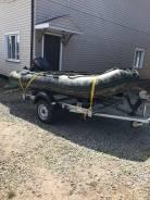 Продам лодку ПВХ с мотором Ямаха 30 на прицепе