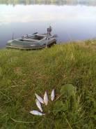 Лодка ПВХ с мотором 2.5 л. с.