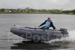 Лодка катамаран Флагман 380 К